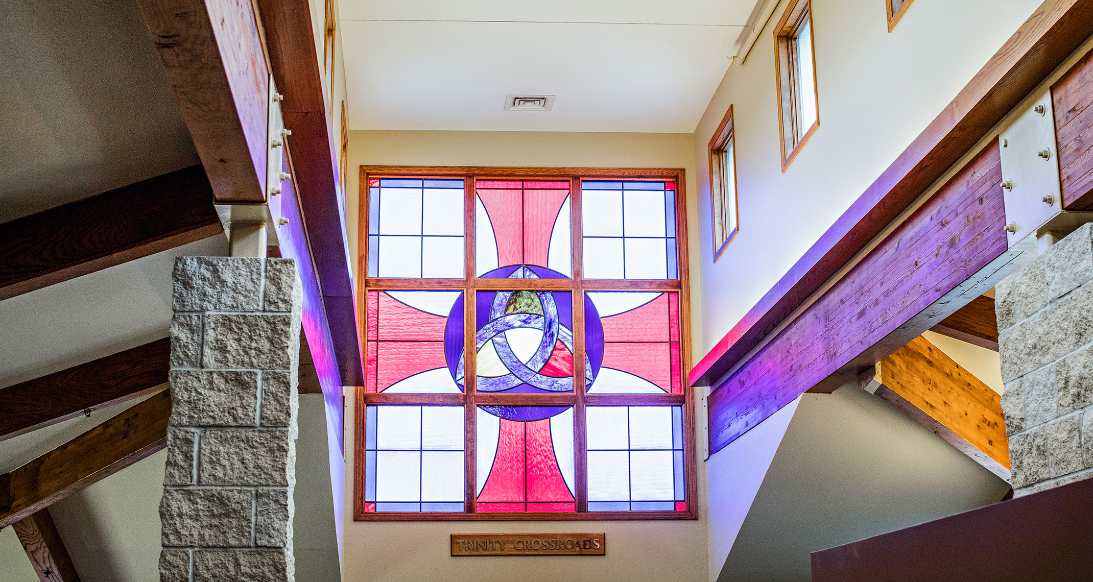 Trinity Village Stained Glass