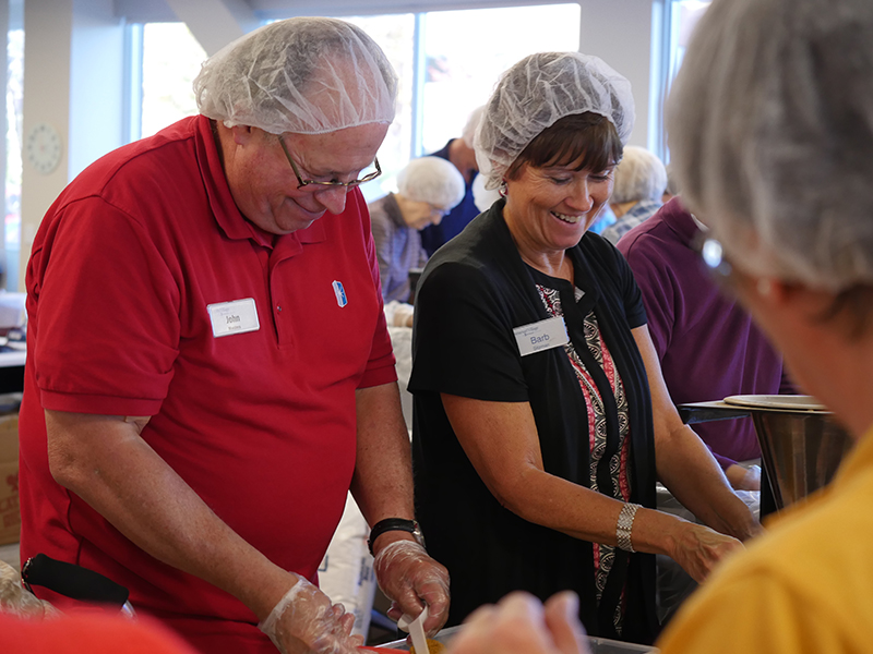 Immanuel Partners with Omaha Against Hunger