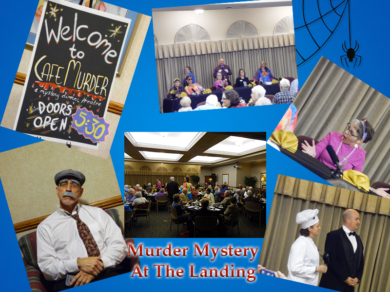 Staff Perform Murder Mystery Dinner at The Landing