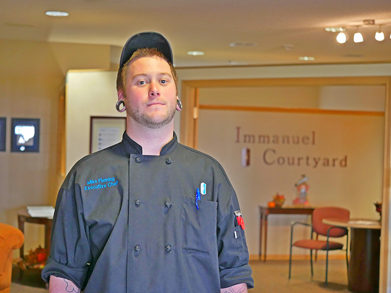 Chef Finds Passion and Love at Immanuel