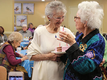 Immanuel Village Resident Celebrates 100 Years