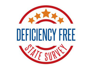 deficiency free survey graphic